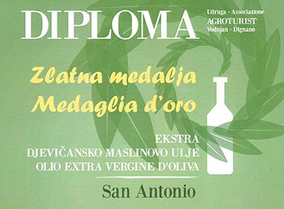 Diplomen Öl San Antonio